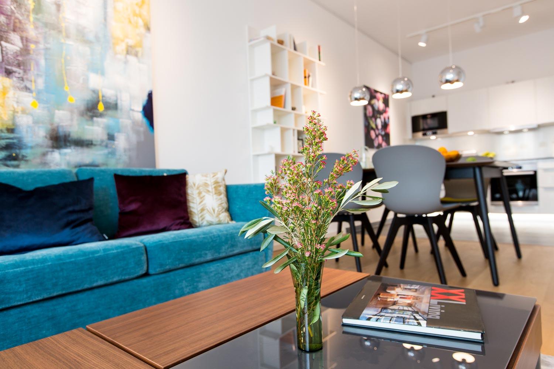 Designermöbel und hochwertige Technik